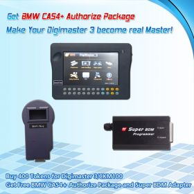 Promotion Buy 300 Tokens for Digimaster3/CKM100 Get BMW CAS4+ Authorize and Super BDM Programmer