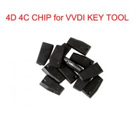 Original 4D 4C Copy Chip for XHORSE VVDI Key Tool 10 pcs/lot