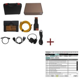 ICOM A2+B+C Diagnostic & Programming Tool for BMW with ICOM 2013.1V External HDD