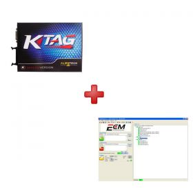 Great Sale V2.06 KTAG OBD ECU Programming Tool plus ECM Titanium V1.61 with 18475 Driver