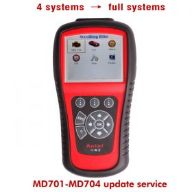 Original Autel MD701/MD702/MD703/MD704 Update Service for 4 Systems to Full Systems