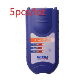 5 pcs/lot NEXIQ 125032 USB Link + Software Diesel Truck Diagnostic Interface with All Installers