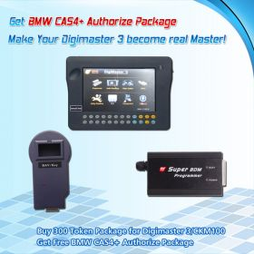 Promotion Buy 200 Tokens for Digimaster 3/CKM100 Get Free CAS4+ Authorize for BMW