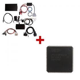 KESS V2 OBD2 Manager Plus J-Link V8 Plus ARM USB-JTAG Adapter and Kess V2 CPU Repair Chip