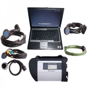 MB SD C4 V2012.11 Plus DAS Offline Programming Software and DELL D630 4GB Laptop