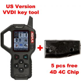 Original Xhorse VVDI Key Tool Remote Maker Key Programmer USA Version V2.3.9 get 5 pieces free 4D 4C Copy chips